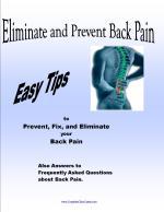 Prevent Back Pain E-book
